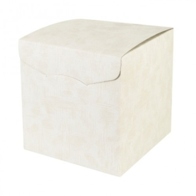 BOX CREAM 300X300X240MM 2 TONE CREAM