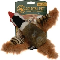 Country Pet Dog Toy - Red Legged Partridge Small x 1