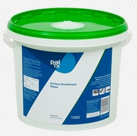 W233230T PAL TX SURFACE DISINFECTANT WIPES (1500)