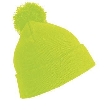Junior RC28J Flourescent Yellow Beanie Hat