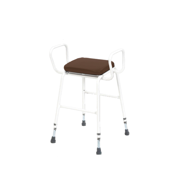 Magnificent Perching Stool With Arms Machost Co Dining Chair Design Ideas Machostcouk