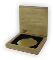 Wooden Medal Box to suit 70mm