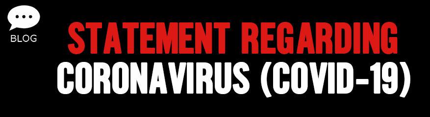 CCA Group Policy Statement Regarding Coronavirus 'COVID-19'
