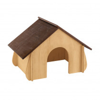 Ferplast Wooden Small Animal Kennel - Large x 1