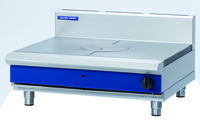 Blue Seal Evolution Series Heavy Duty Range/Target Top, gas, bench model, 900 mm, (1) Bullseye hot top, flame failure device, stainless steel finish, legs, 12.5 Gas KW 900x812x485mm
