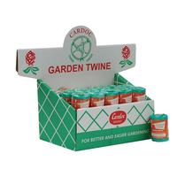 002-000 BOX 24 GREEN TWIST GARDEN TWINE
