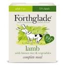 Forthglade Complete Adult Dog Tray Lamb Brown Rice & Veg 395g x 18