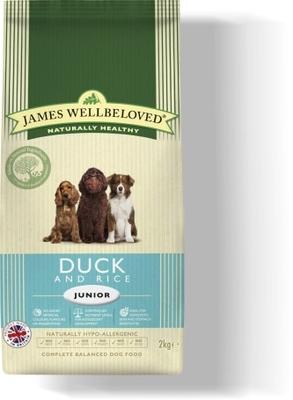 James Wellbeloved Junior - Duck & Rice 2kg