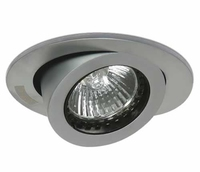 Brushed Chrome Round Gimbal Downlight | LV1202.0069