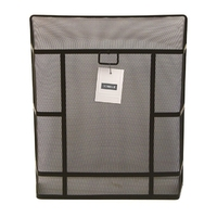 Deville Premium Large Rectangular Guard Black 28x24''