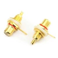 APC-2195   RCA CHASSIS SOCKET GOLD