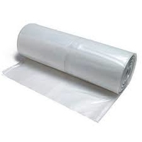 POLYTHENE ROLL 500 GAUGE CLEAR 3.6M X 17M