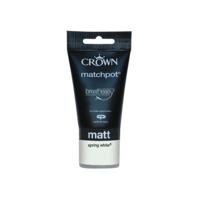 Crown Matt Spr White 40ML