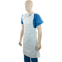 Apron Heavy Duty White, Tear Off Pkt50