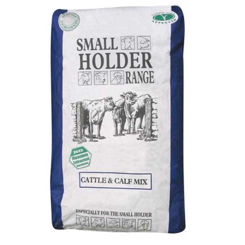 Allen & Page Small Holder Range Cattle & Calf Mix 20kg