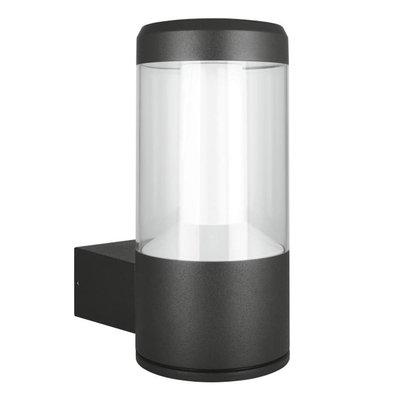 LEDVANCE Grey Outdoor Lantern Wall Light, 12w 3000k Warm White