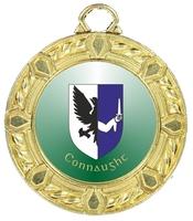 40mm Gold Zamac Rope Medal | TC94