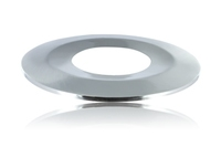 Satin Nickel Bezel for Colour Switching Fire Rated Downlight