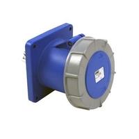 CEE UIV2166SRU Wall Socket 16A 230V 3P Blue IP67