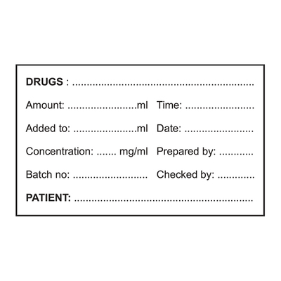 Medication Labels - Clinics (200)