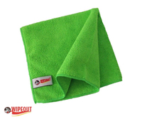 green microfiber cloths