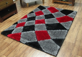 4032 Grey/Red