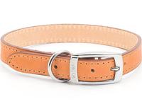 """Ancol Heritage Leather Collar Tan 26"""" x 1"""