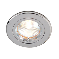 Robus GU10 Straight Downlight Chrome