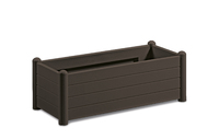 Italia Rectangular Flower Box col. Moka