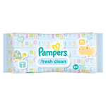 Pampers Baby Wipes Fresh & Clean x12