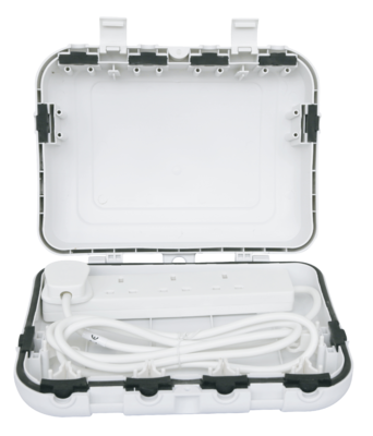 IP65 Weather Proof Box with 4 Gang 2M Lead