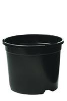 Desch Plantpak Container Pot Y Base 5lt - Black
