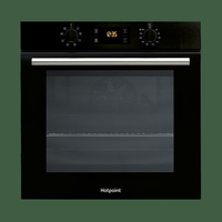 Hotpoint SA2540HBL 9 Function 66L Single Oven - Black