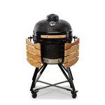 Kamado Grande Classic 59cm BBQ Smoker - Black 3