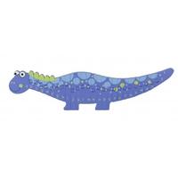 Puzzle Alphabet Dinosaur.