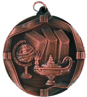 60mm Bronze Knowledge Medal