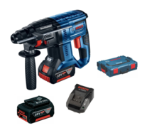 Bosch GBH18V-20 18V 20mm SDS Drill 0-18000rpm 0-4550bpm 1.7 Joules C/W 2 x 5.0Ah Li-ion Battery & Charger In Box (Ploughing Special Discount Price)