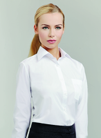 Disley Ladies Classic Long Sleeve Blouse