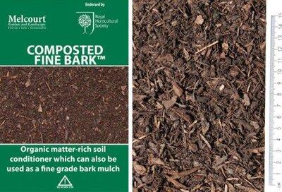 Melcourt Bark Composted Fine 50lt