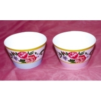 2273 CUPCAKE WRAP-CHINA ROSE-12PCE-50mm
