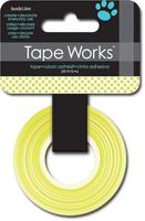 Tape Polka Dot Pear Green (Priced in singles, order in multiples of 4)