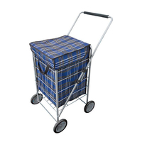 Explorer 4 Wheel Shopping Trolley 65L