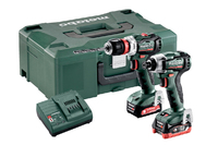 Metabo 12-Volt Combo Set - Screwdriver and Impact Driver (BS12BLQ & SSD12BL)
