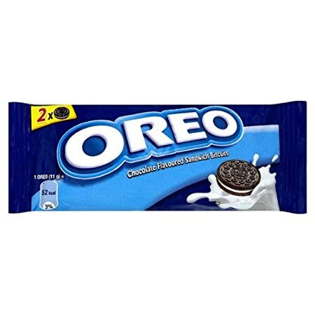 Oreo Chocolate Flavoured Sandwich Biscuits 20x66gr