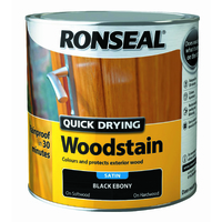 Quick Drying Woodstain 2.5L Black Ebony