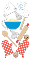 Baking  Essential Craft Sticker.