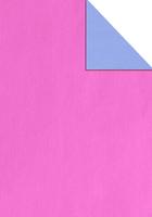 50CM X 100M BLUE / PINK REVERSE KR (002327) (PER ROLL)