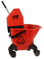 SYR Trad C20/C4 Mop Bucket & Wringer, Red