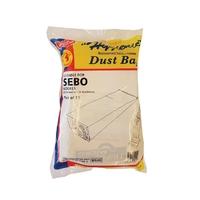 Paper Vacuum Bags Sebo 10 Pk with Plastic Collar SDB249