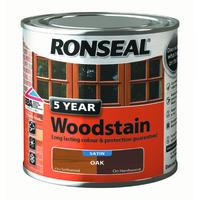 5 Year Woodstain 250ml Oak